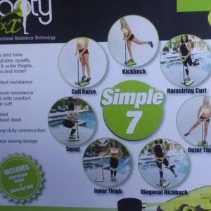 NIB Booty Max Home Workout Resistance Band